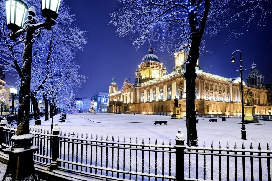 La magia del Natale a Belfast