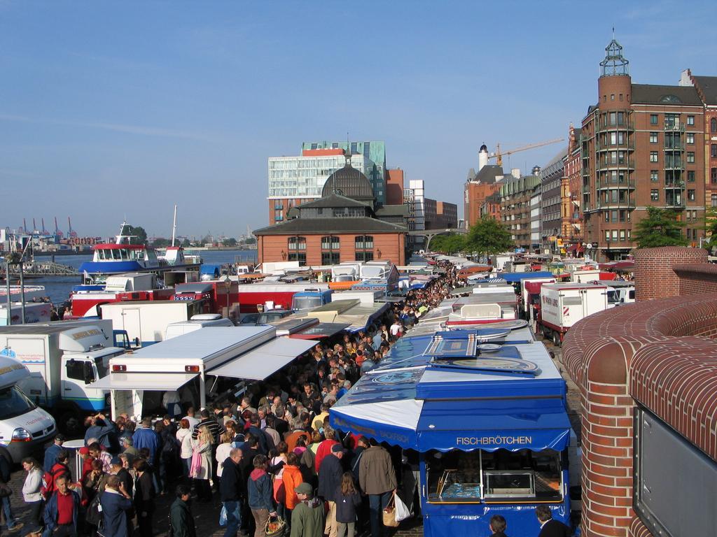Fischmarkt Amburgo