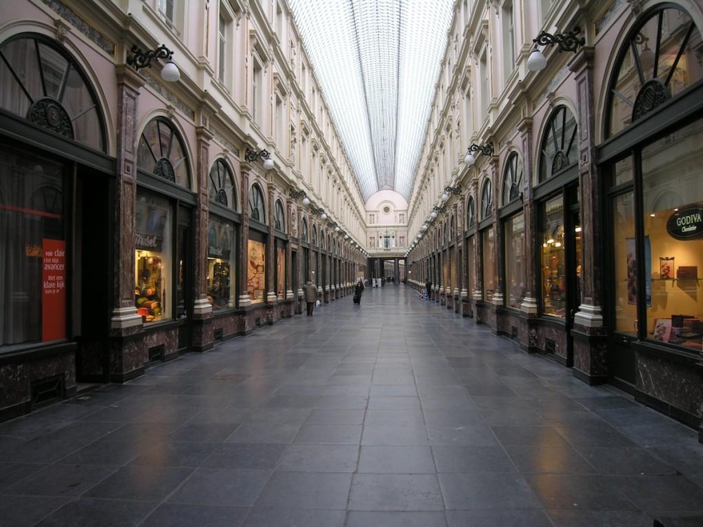 Galeries royales Saint-Hubert.