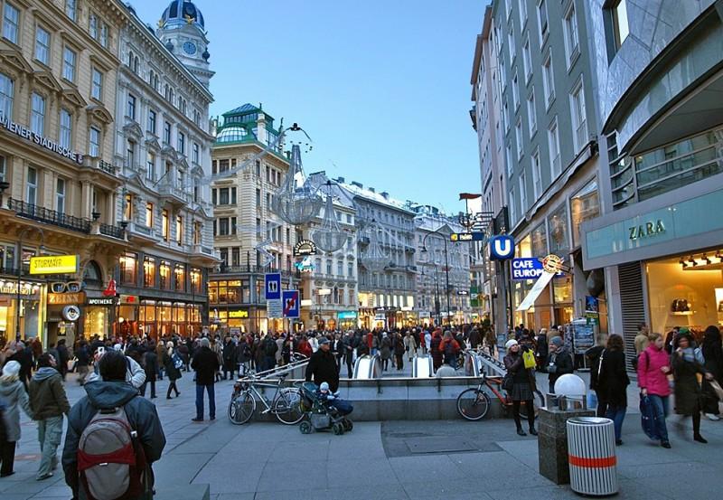 Shoppen Wien