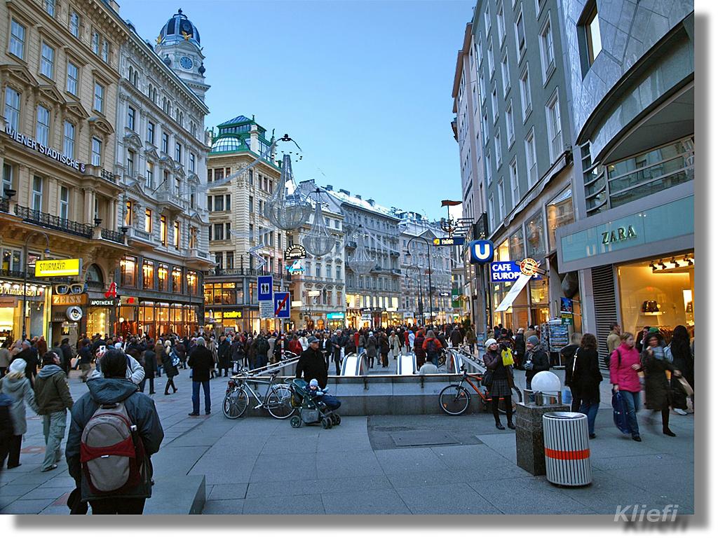 Vienna Austria  city images : Se siete appassionati di shopping, allora a Vienna avrete solo l ...