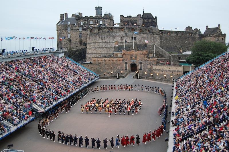 Scozia, Edimburgo: colori, storia e oceano