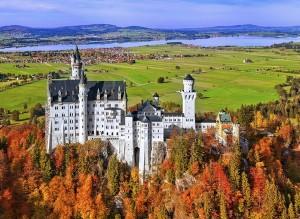 Fussen castello Neuschwanstein Baviera