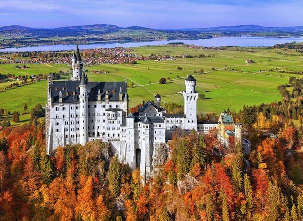Fussen castello Neuschwanstein