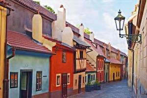 Praga vicolo d'oro
