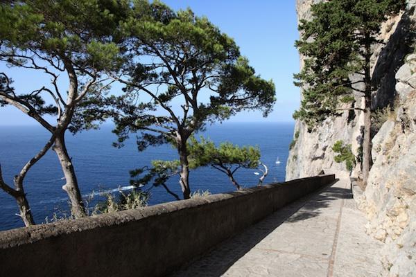 Qui sotto il cielo di Capri, basta un weekend