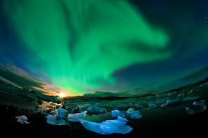 aurora boreale Capo Nord