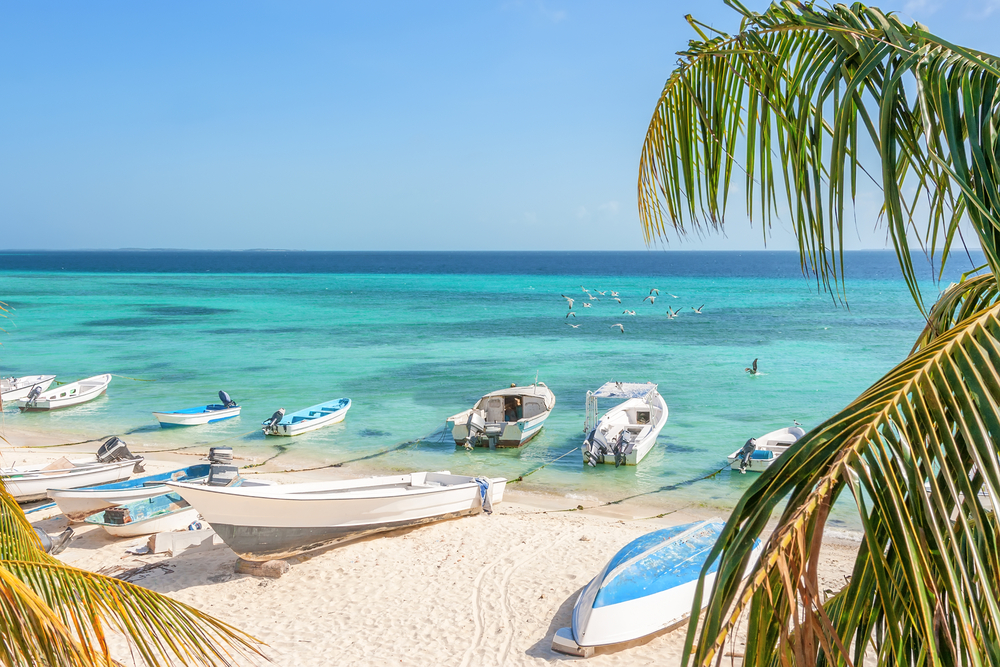 Los Roques mar dei Caraibi