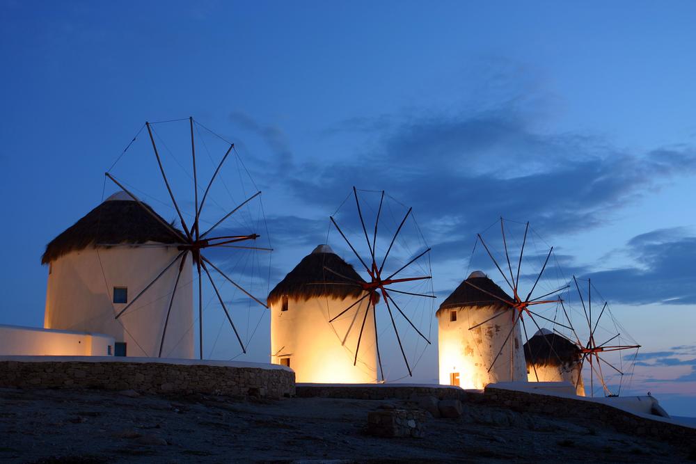 Grecia, Mykonos: sole, meltemi e mare blu