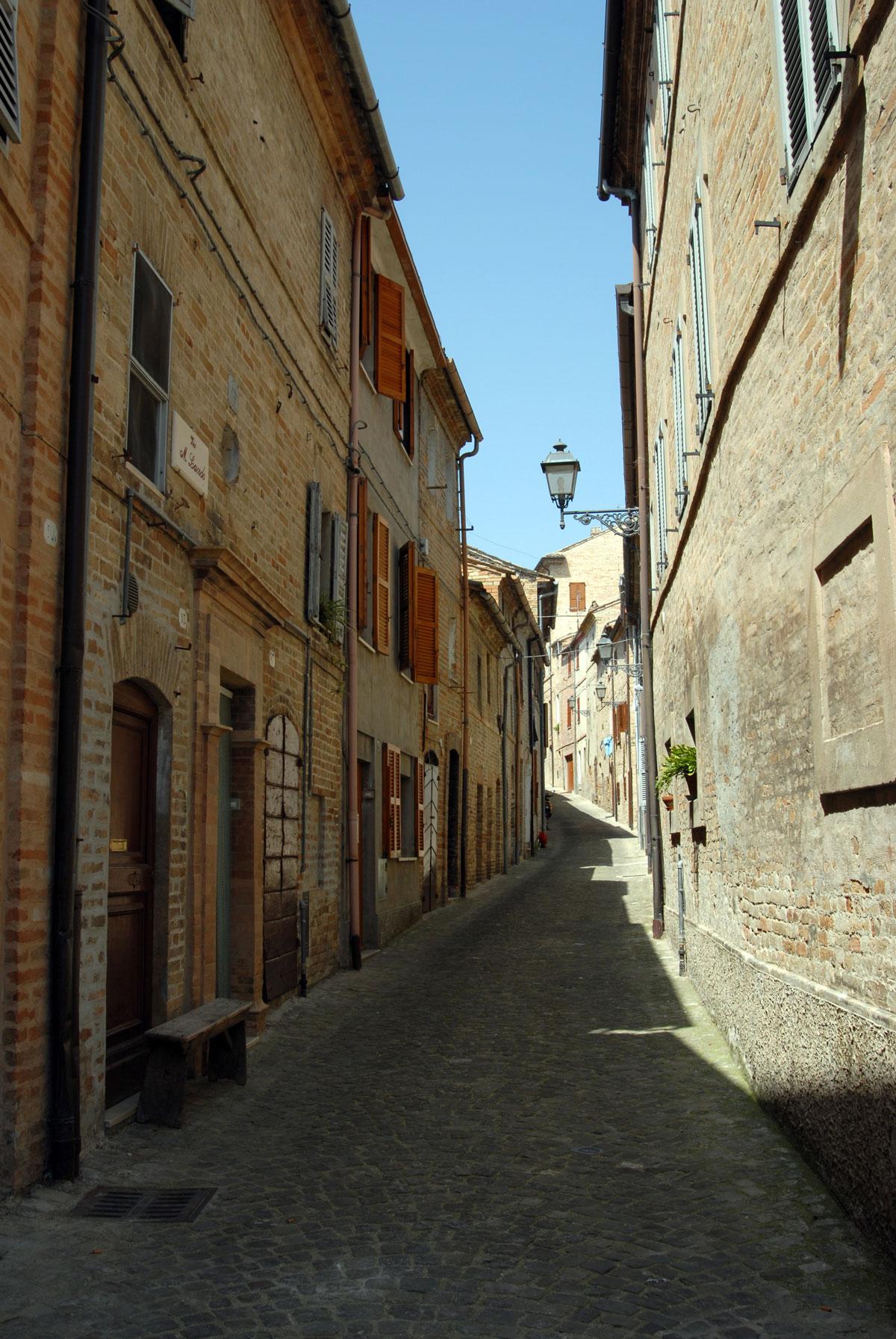 Belmonte Piceno, castello medievale di Fermo