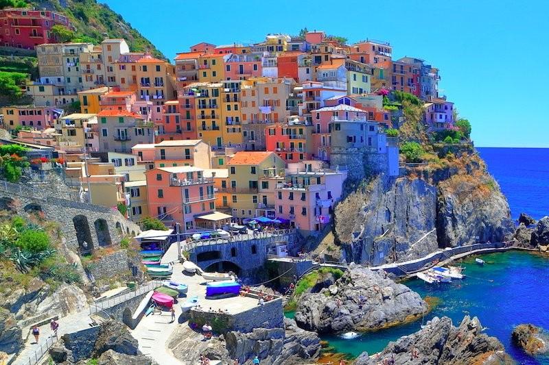Liguria Cinque Terre - mare