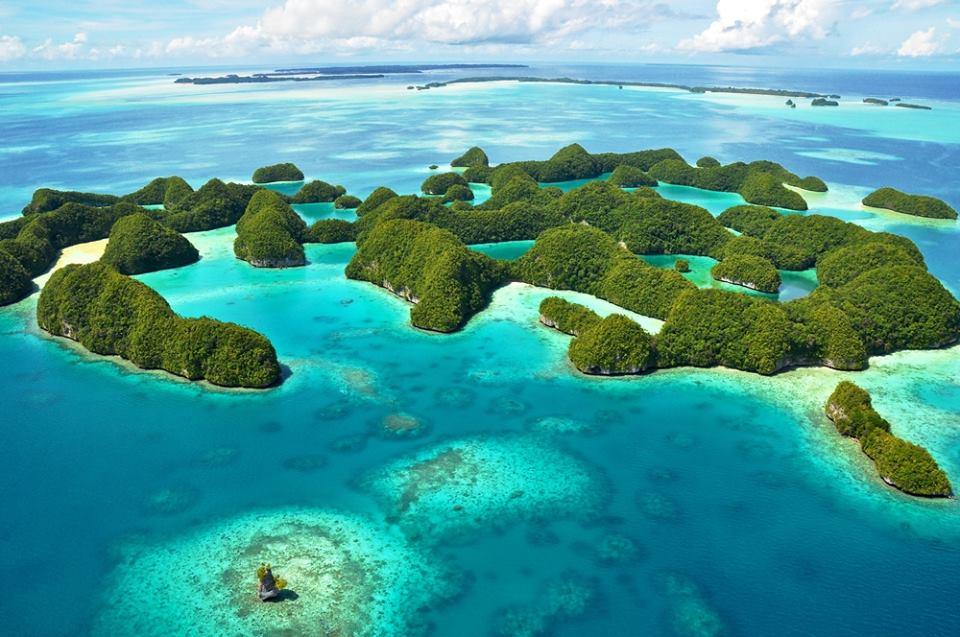70 island Palau Micronesia