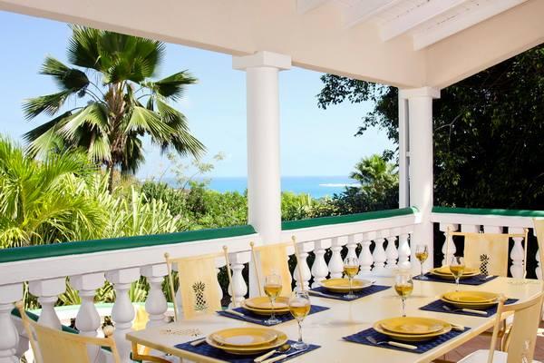 Alexambre Beach Villa Saint Martin