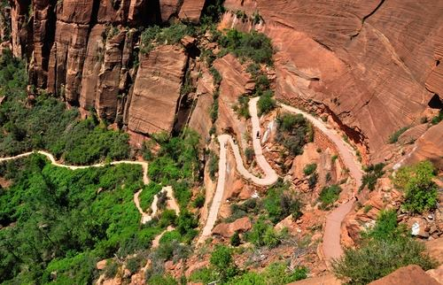 Angels Landing Zion National Park Utah USA