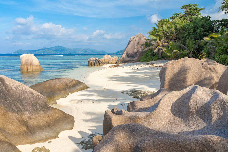 Anse Source DArgent on La Digue Seychelles