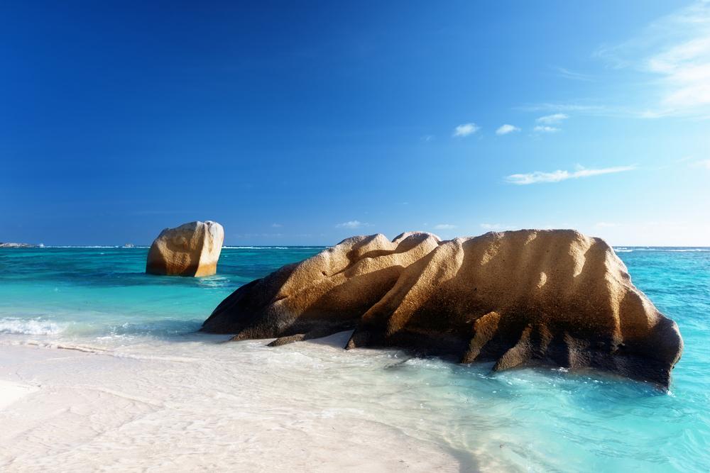 Anse Source dArgent La Digue island Seychelles