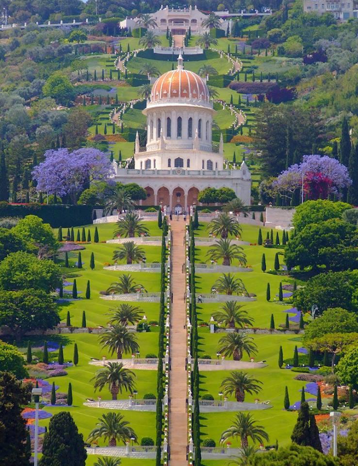 Bahai Temple Haifa Israel