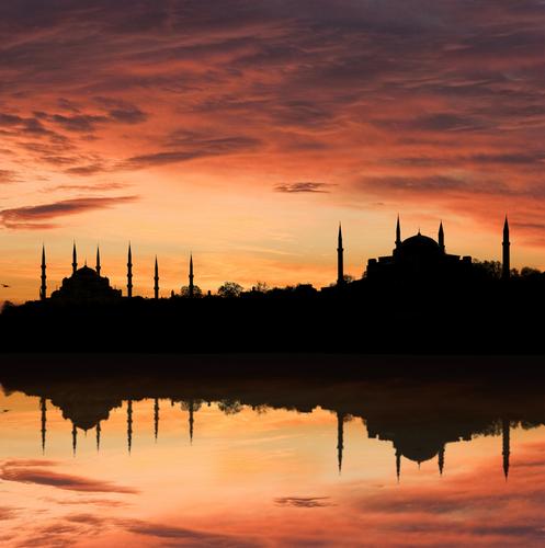 Blue Mosque and The Hagia Sophia
