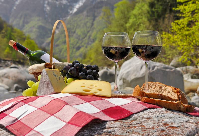 Buon appettito dalle Alpi Svizzere
