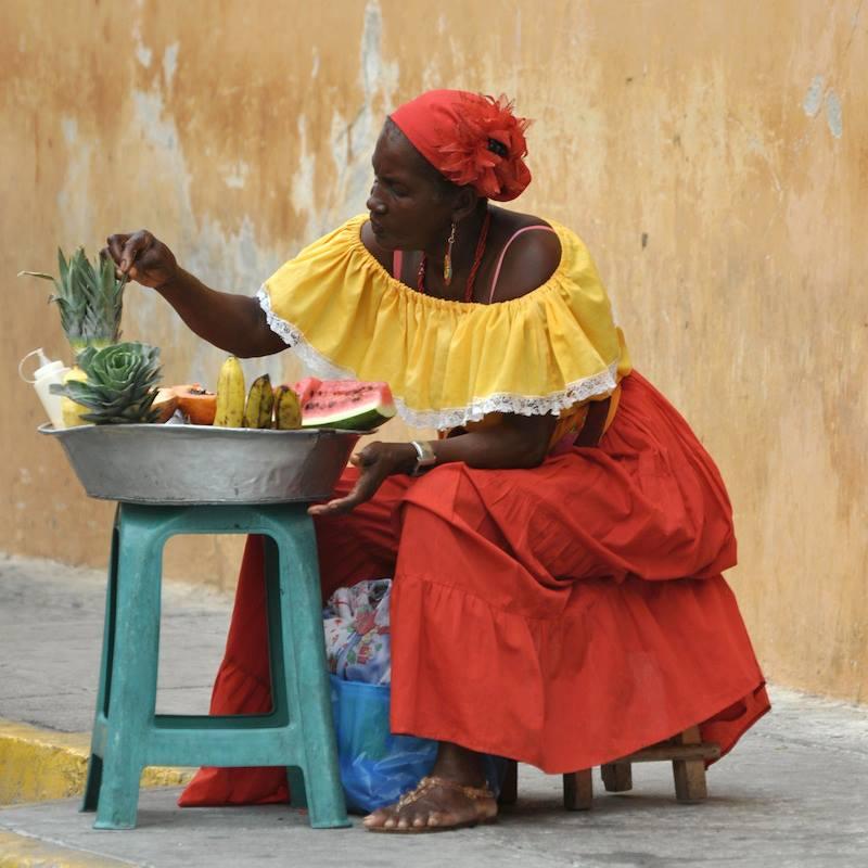Buon pranzo da Cartagena Colombia