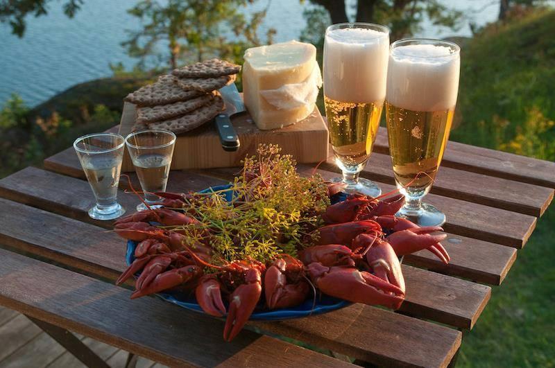 Buon pranzo dalla Svezia