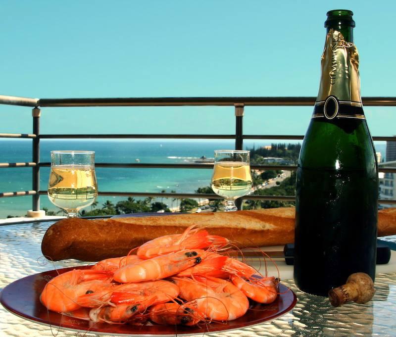 Buon pranzo in New Caledonia