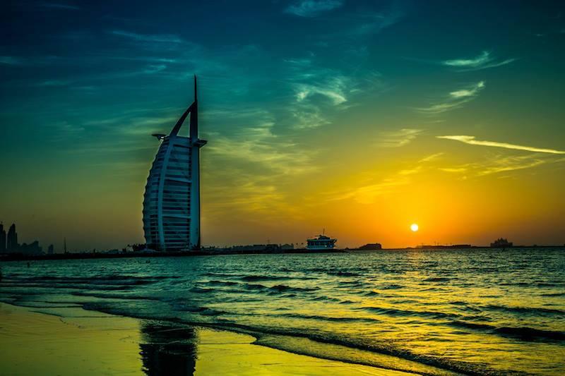 Buongiorno da Dubai Emirati Arabi Uniti