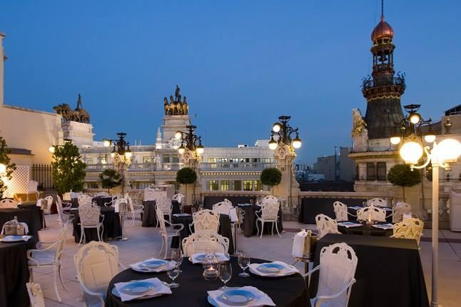 Cena a Madrid Restaurant La terrazza del Casino