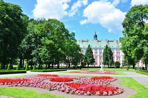 Chopin Park Poznan Poland