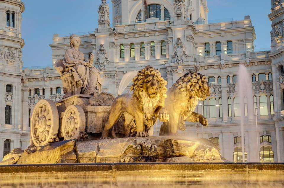 Cibeles Fountain Madrid 1