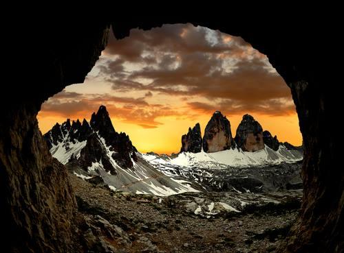 Cime di Lavaredo Dolomiti UNESCO World Natural Heritage Site
