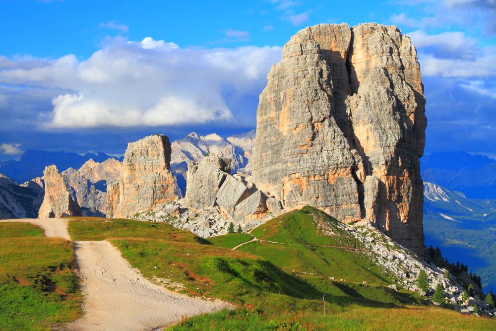 Cinque Torri Dolomite Alps Italy