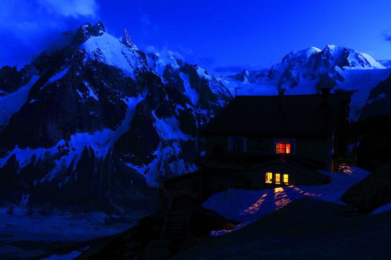 Couvercle Refuge Mont Blanc Massif France
