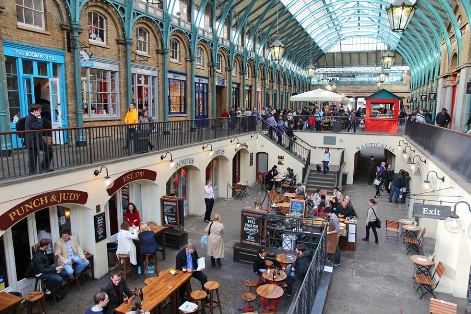 Covent Garden 1 7 The Piazza London