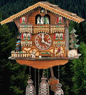 Cuckoo clock from the Black Forest Germany4n