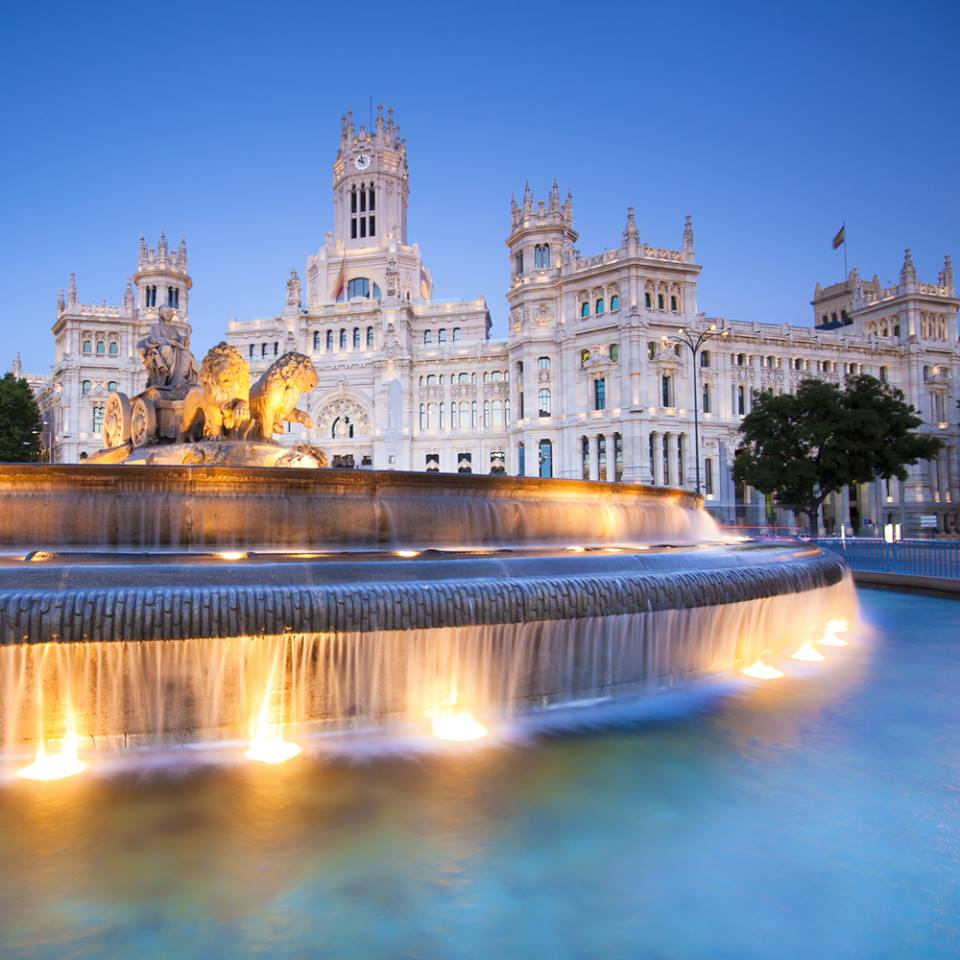 Cybeles Square Palacio de Comunicaciones Madrid