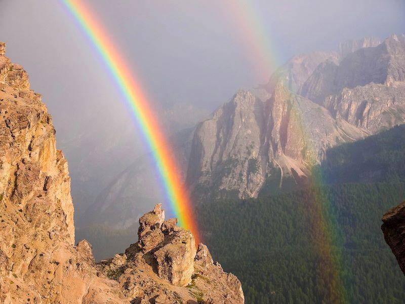 Dolomiti Gruppo Cristallo Val Padeon Cortina DAmpezzo