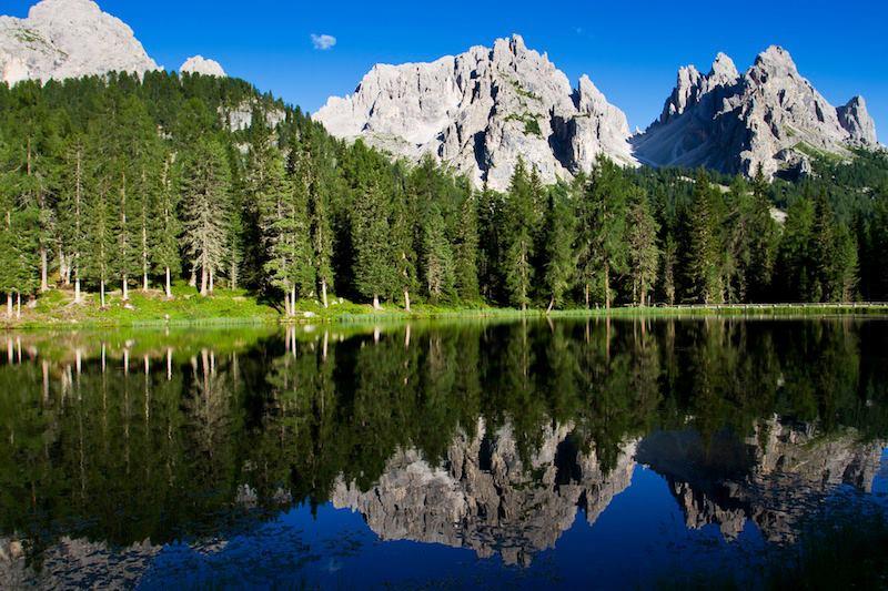 Dolomiti Unesco natural world heritage site
