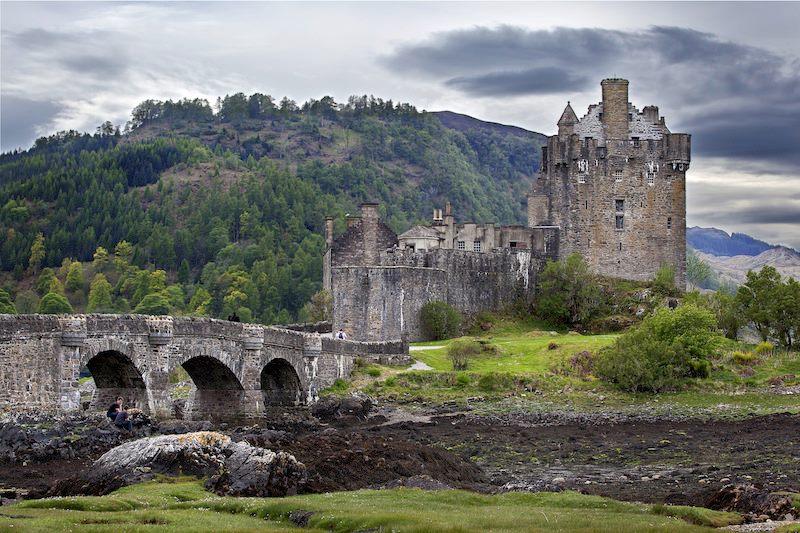 Eilean Donan Castle Isola nel Loch Duich Highlands