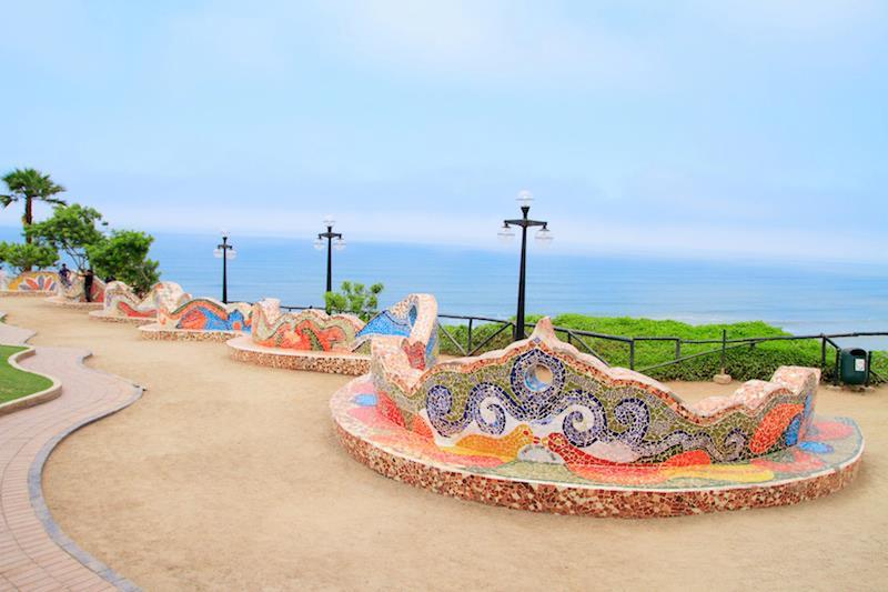El Parque del Amor Lima Perù