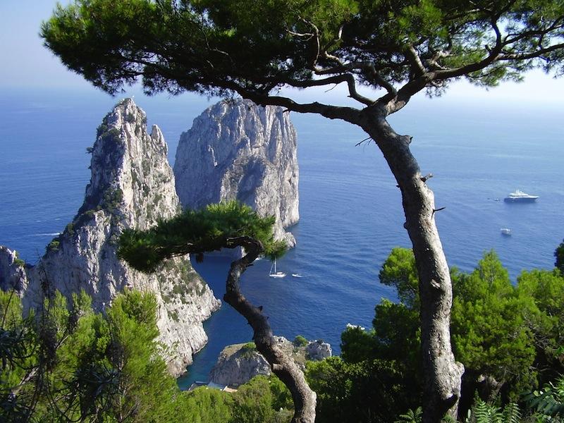 Faraglioni Rocks on Capri Italy 0