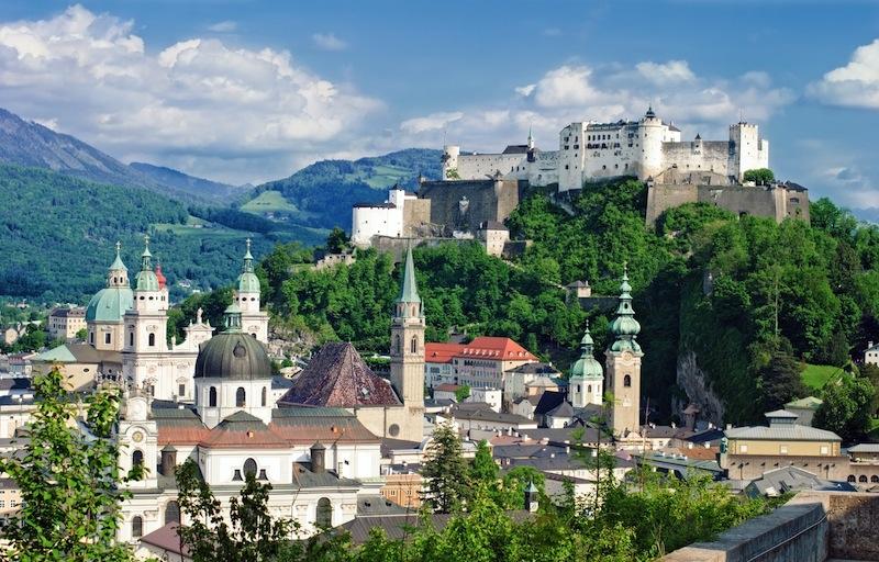 Fortress in Salzburg