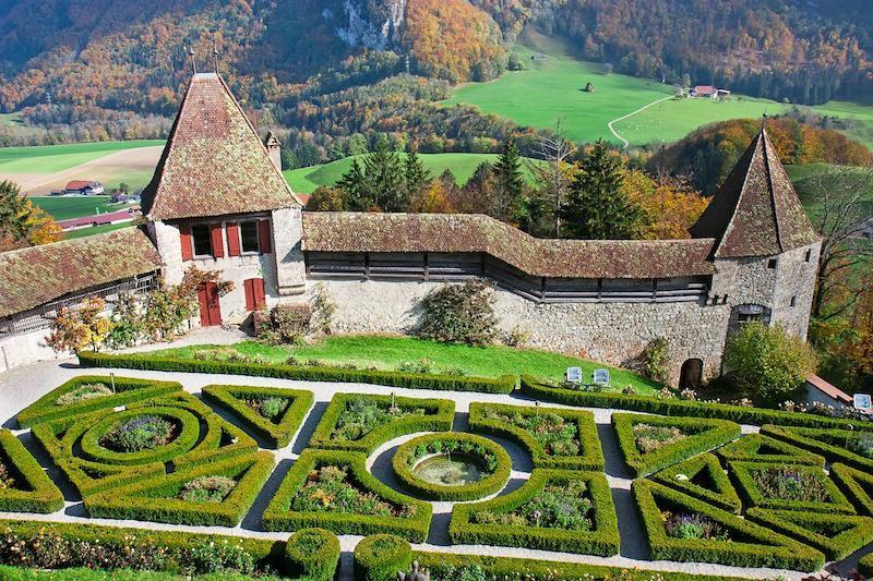Gruyere Castle Svizzera