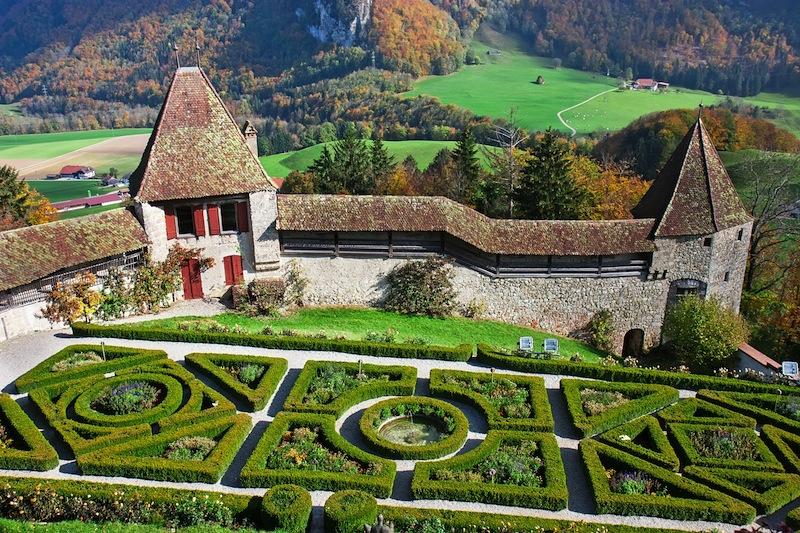 Gruyere castle Switzerland