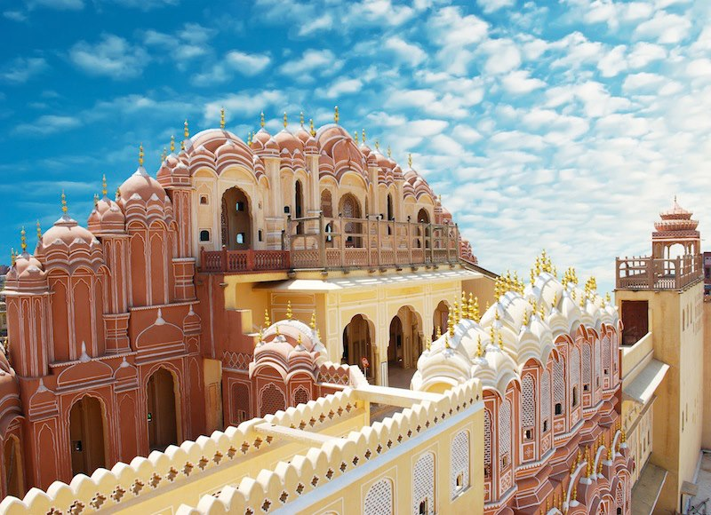 Hawa Mahal Palace Jaipur Rajasthan