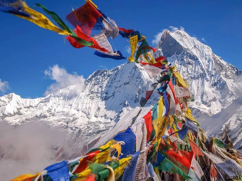Himalaya Nepal base camp 4200m