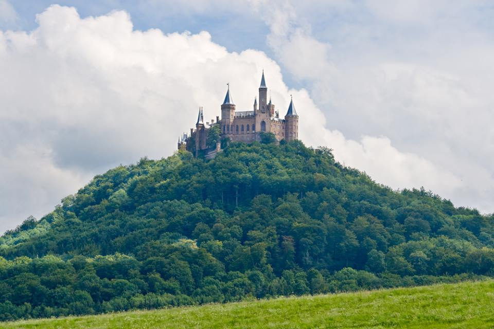 Hohenzollern castle in the Black Forest Germany