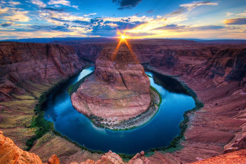 Horseshoe Bend Colorado Canyon