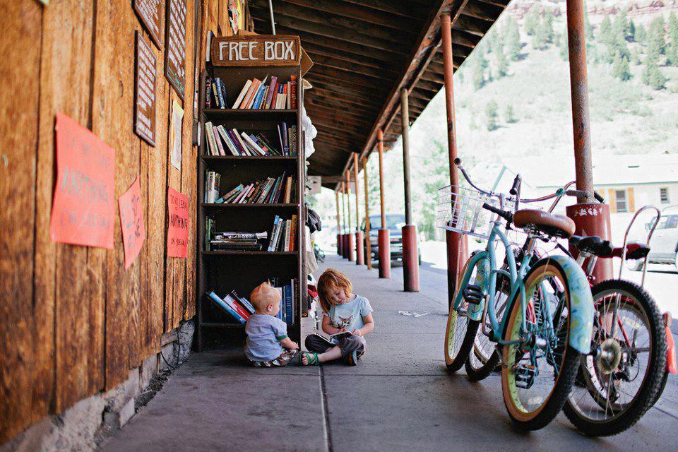 I libri sono gli amici più tranquilli e gli insegnanti più pazienti Charles William Eliot Libreria Telluride Colorado U