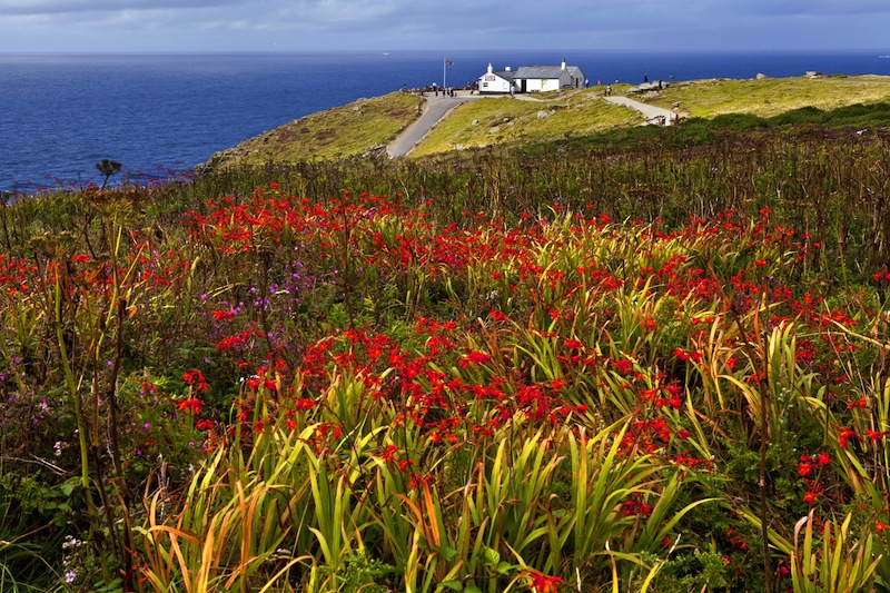 Lands End in Cornwall E